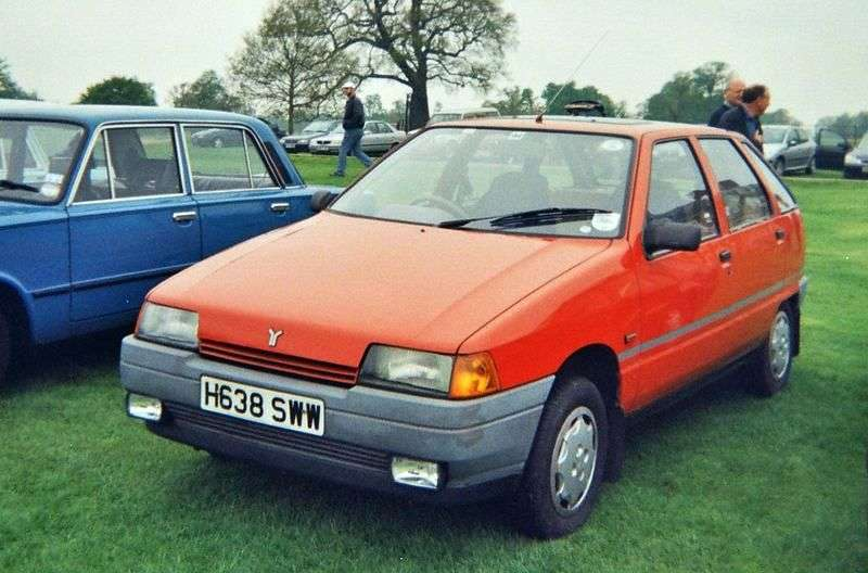 Zastava Yugo Florida 1st generation 1.3 MT hatchback (1991–2000)