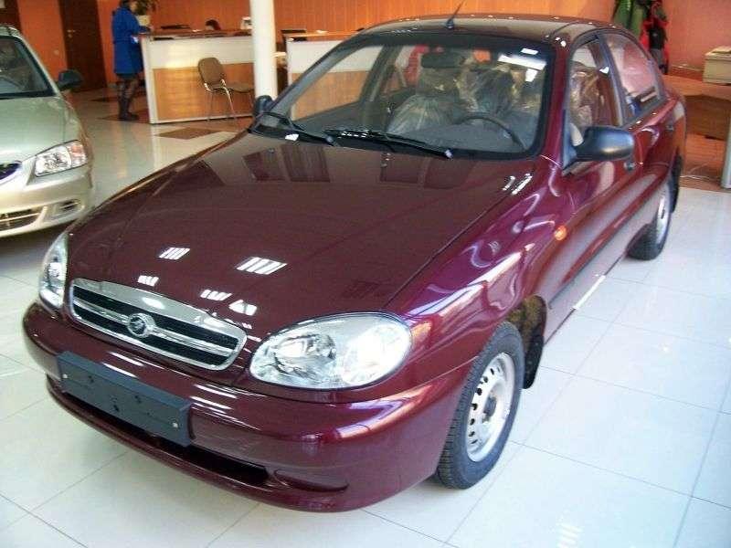 ZAZ Sens 1st generation sedan 1.5 MT (2009 – n.)