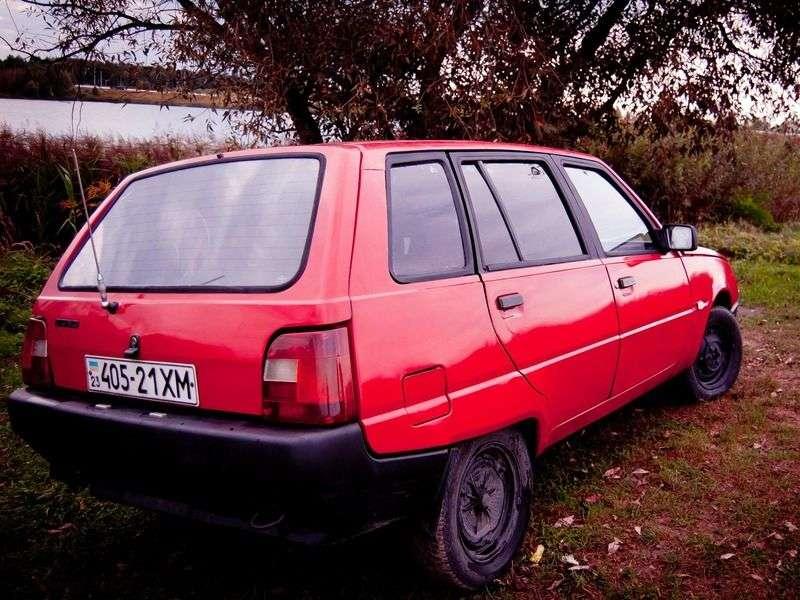 ZAZ 1105 1st generation wagon 1.1 MT (1994–1997)
