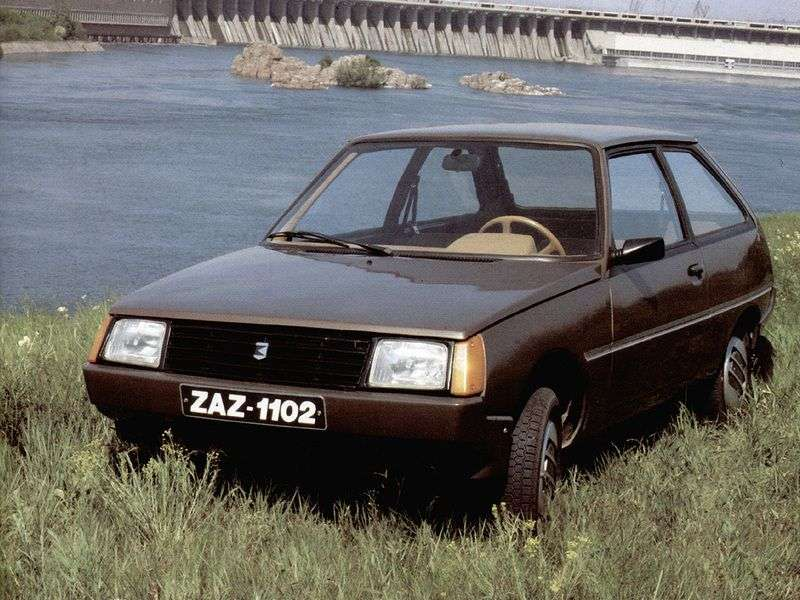 ZAZ 1102 1 generation hatchback 1.3 MT (1998–2007)