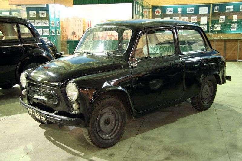 ZAZ 965 1st generation sedan 0.7 MT (1960–1963)